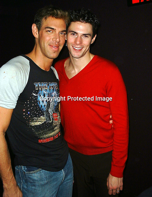 Kevyn Aucoin &amp; Anthony Bourgois<br />InStyle Magazine Party For Kevyn Aucoin Book<br />&quot; Face Forward&quot;<br />Club/ Restaurant Lotus <br />New York, NY<br />Tuesday, September 19, 2000<br />Photo By CelebrityVibe.com