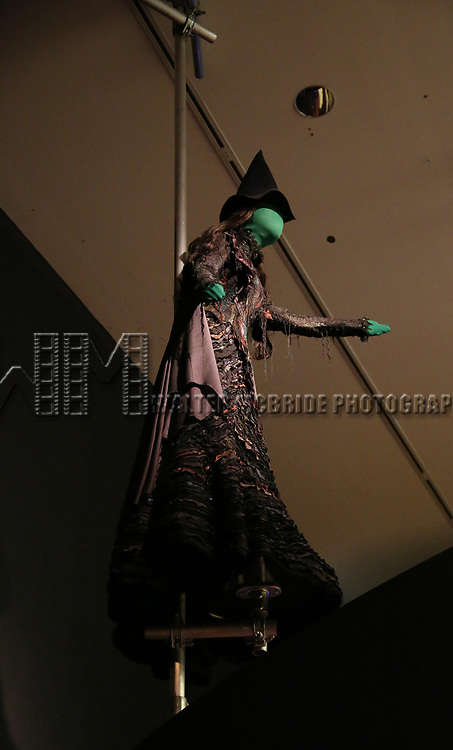 'Wicked' Costume at Curtain Up: Celebrating the Last 40 Years of Theatre in New York and London Exhibition on June 14, 2017 at the New York Public Library for the Performing Arts at Lincoln Center.