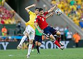 Colombia contra Brasil en Fortaleza