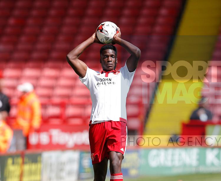 Joseph Cummings of Sheffield Utd during the PDL U21 Final at Bramall Lane Sheffield. Photo credit should read: Simon Bellis/Sportimage