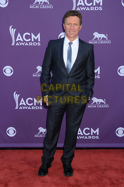 Craig Morgan.47th Annual Academy of Country Music Awards held at the MGM Grand, Las Vegas, Nevada, USA..April 1st, 2012.full length black suit CMA ACM.CAP/ADM/BP.©Byron Purvis/AdMedia/Capital Pictures.
