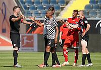 Gelson Fernandes (Eintracht Frankfurt) wird verabschiedet<br /> - 27.06.2020: Fussball Bundesliga, Saison 19/20, Spieltag 34, Eintracht Frankfurt vs. SC Paderborn 07, emonline, emspor, Namen v.l.n.r. <br /> <br /> Foto: Marc Schueler/Sportpics.de/Pool <br /> Nur für journalistische Zwecke. Only for editorial use. (DFL/DFB REGULATIONS PROHIBIT ANY USE OF PHOTOGRAPHS as IMAGE SEQUENCES and/or QUASI-VIDEO)