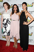 WESTWOOD, LOS ANGELES, CA, USA - JUNE 21: Rebecca Wisocky, Judy Reyes, Roselyn Sanchez at the Los Angeles Premiere Of 'La Golda' held at The Crest on June 21, 2014 in Westwood, Los Angeles, California, United States. (Photo by Celebrity Monitor)