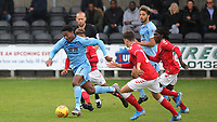 Ali Koiki of Burnley U23's in action during Charlton Athletic Under-23 vs Burnley Under-23, Professional Development League Football at Princes Park on 9th September 2019