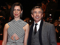 www.acepixs.com<br /> <br /> February 10 2017, Berlin<br /> <br /> (L-R) Actor Steve Coogan and actress Rebecca Hall arriving at the premiere of 'The Dinner' during the 67th Berlinale International Film Festival Berlin at Berlinale Palace on February 10, 2017 in Berlin, Germany.<br /> <br /> By Line: Famous/ACE Pictures<br /> <br /> <br /> ACE Pictures Inc<br /> Tel: 6467670430<br /> Email: info@acepixs.com<br /> www.acepixs.com