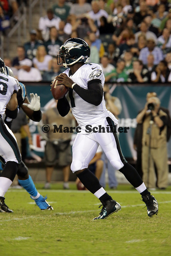 QB Michael Vick (Eagles) - Philadelphia Eagles vs. Carolina Panthers, Lincoln Financial Field
