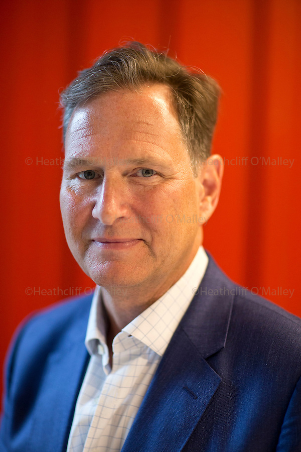 Mcc0071736 . Daily Telegraph<br /> <br /> DT Business<br /> <br /> Portrait of the outgoing boss of Argos John Walden . Walden is CEO of Argos owner the Home Retail Group and is shortly to be replaced by John Rogers of the Sainsbury's group .<br /> <br /> 28 July 2016