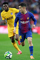 FC Barcelona's Philippe Coutinho (r) and Atletico de Madrid's Thomas Partey during La Liga match. March 4,2018. (ALTERPHOTOS/Acero) /NortePhoto.com NORTEPHOTOMEXICO