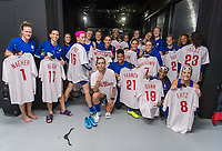 Philadelphia, PA - August 28, 2019:  The USWNT trains in preparation for an international friendly against Portugal at Lincoln Financial Field.