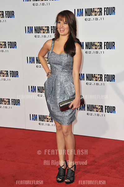"Debby Ryan at the world premiere of ""I Am Number Four"" at the Mann Village Theatre, Westwood..February 9, 2011  Los Angeles, CA.Picture: Paul Smith / Featureflash"