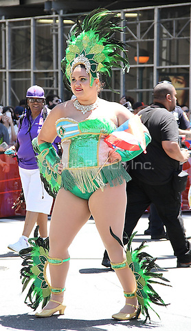 NEW YORK, NY - JUNE 12: 2016  The 59th annual National Puerto Rican Day Parade in New York, New York on June 12,  2016.  Photo Credit: Rainmaker Photo/MediaPunch