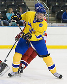 Niclas Edman (Sweden - 5) - Sweden defeated the Czech Republic 4-2 at the Urban Plains Center in Fargo, North Dakota, on Saturday, April 18, 2009, in their final match of the 2009 World Under 18 Championship.