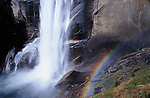 Close-up of Vernal Falls, Yosemite National Park, California USA