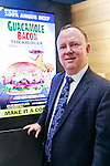 Ned Lyerly President, International at CKE Restaurants Holding, Inc. poses for a photograph during the pre-opening event for the Japan's first Carl's Jr. burger restaurant located in Tokyo's Akihabara district, on March 2, 2016, Japan. The Californian fast food restaurant follows on the heels of Shake Shack in entering the Japanese market. Mitsuuroko Group Holdings Co., Ltd. has signed a franchise agreement to operate Carl's Jr. branches in Japan with the first to open to the public on March 4th. (Photo by Rodrigo Reyes Marin/AFLO)