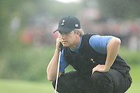 23rd September, 2006. American Ryder Cup Team player David Toms on the 15th green during the afternoon foursomes session of the second day of the 2006 Ryder Cup at the K Club in Straffan, County Kildare in the Republic of Ireland..Photo: Eoin Clarke/ Newsfile.
