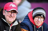 Lincoln City fans enjoy the pre-match atmosphere<br /> <br /> Photographer Andrew Vaughan/CameraSport<br /> <br /> The EFL Sky Bet League Two - Lincoln City v Mansfield Town - Saturday 24th November 2018 - Sincil Bank - Lincoln<br /> <br /> World Copyright &copy; 2018 CameraSport. All rights reserved. 43 Linden Ave. Countesthorpe. Leicester. England. LE8 5PG - Tel: +44 (0) 116 277 4147 - admin@camerasport.com - www.camerasport.com