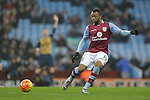 Jordan Ayew of Aston Villa - Football - Barclays Premier League - Aston Villa vs Arsenal - Villa Park Birmingham - 13th December 2015 - Season 2015/2016 - Photo Malcolm Couzens/Sportimage