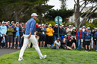 Brooks Koepka (USA) heads down 9 during round 1 of the 2019 US Open, Pebble Beach Golf Links, Monterrey, California, USA. 6/13/2019.<br /> Picture: Golffile | Ken Murray<br /> <br /> All photo usage must carry mandatory copyright credit (© Golffile | Ken Murray)