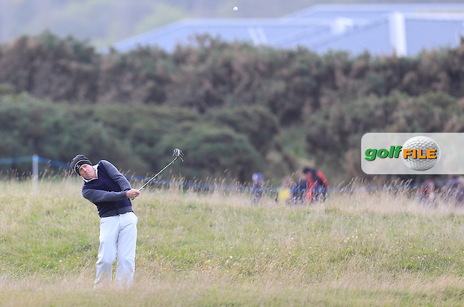 Hugh Grany (AM) during the final round of the Alfred Dunhill links Championship Old Course, St Andrews, Fife, Scotland.<br /> Picture Fran Caffrey www.golffile.ie