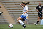 28 August 2009: Duke's Cody Newman scores a goal. The Duke University Blue Devils lost 3-2 to the University of Central Florida Knights at Fetzer Field in Chapel Hill, North Carolina in an NCAA Division I Women's college soccer game.