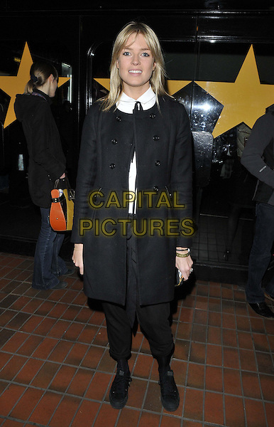 LONDON, ENGLAND - FEBRUARY 27: Isabella Calthorpe attends the &quot;War Horse&quot; NT Live gala performance, The New London Theatre, Drury Lane, on Thursday February 27, 2014 in London, England, UK.<br /> CAP/CAN<br /> &copy;Can Nguyen/Capital Pictures