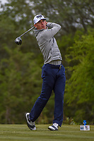 Billy Horschel (USA) watches his tee shot on 15 during Round 2 of the Valero Texas Open, AT&amp;T Oaks Course, TPC San Antonio, San Antonio, Texas, USA. 4/20/2018.<br /> Picture: Golffile | Ken Murray<br /> <br /> <br /> All photo usage must carry mandatory copyright credit (&copy; Golffile | Ken Murray)