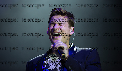 Blue - Lee Ryan performing live at O2 London UK - 11 December 2013.  Photo credit: Iain Reid/IconicPix