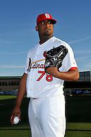 Mar 01, 2010; Jupiter, FL, USA; St. Louis Cardinals pitcher Oneli Perez (78) during  photoday at Roger Dean Stadium. Mandatory Credit: Tomasso De Rosa/ Four Seam Images