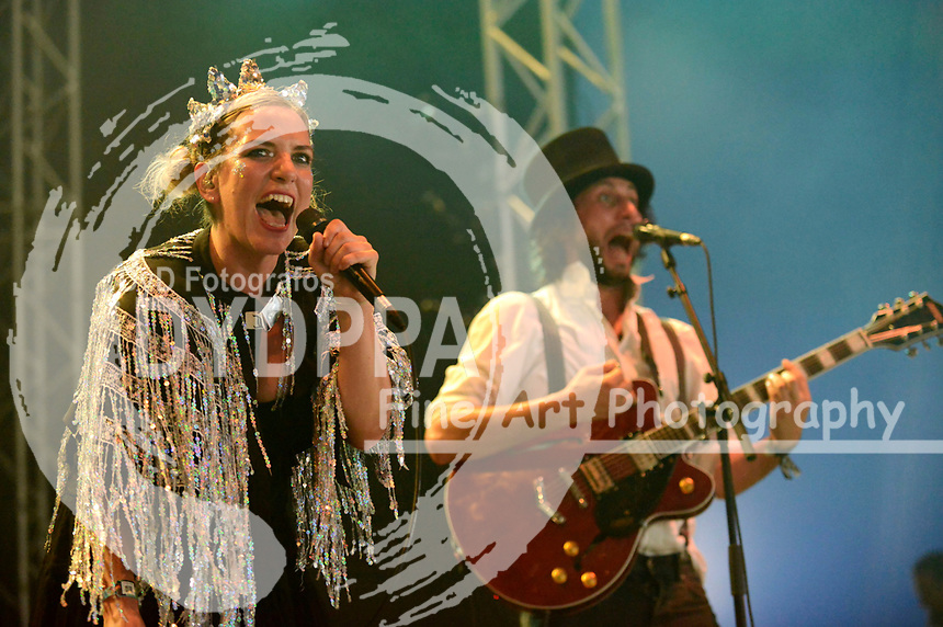 The Electric Swing Circus live auf dem A Summer's Tale Festival 2017 in der Lüneburger Heide. Luhmühlen, 05.08.2017