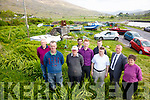 Call for Kerry County Council to tidy up the public area at Coonanna Harbour pictured her l-r; Michael O'Shea, Gerard O'Sullivan, Pat O'Sullivan, Anthony Hutchinson, Paul Clifford, John O'Sullivan, Gerry Buckley, Cllr. Damien Quigg & Kathleen O'Sullivan.