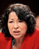 Washington, DC - July 14, 2009 -- United States Senate Judiciary Committee considers the nomination of Judge Sonia Sotomayor as Associate Justice of the U.S. Supreme Court on Tuesday, July 14, 2009..Credit: Ron Sachs / CNP