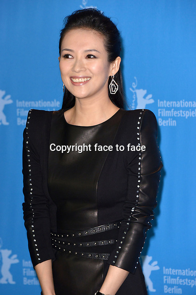 Zhang Ziyi attending photocall THE GRANDMASTER during 63th International Berlinale Film Festival at Berlinale Palast. Berlin, 07.02.2013...Credit: Timm/face to face
