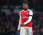 Arsenal's Alex Iwobi looks on dejected during the EFL Cup match at the Emirates Stadium, London. Picture date October 30th, 2016 Pic David Klein/Sportimage