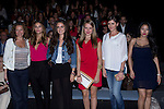 03.09.2012. Celebrities attending the Dolores Cortes and Guillermina Baeza fashion show during the Mercedes-Benz Fashion Week Madrid Spring/Summer 2013 at Ifema. In the image ?, Norma Ruiz, Alicia Sanz, Esmeralda Moya, Lucia Ramos and Giselle Calderon (Alterphotos/Marta Gonzalez)