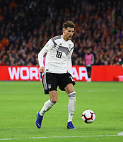 Leon Goretzka (Deutschland, Germany) - 24.03.2019: Niederlande vs. Deutschland, EM-Qualifikation, Amsterdam Arena, DISCLAIMER: DFB regulations prohibit any use of photographs as image sequences and/or quasi-video.