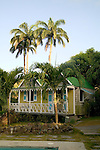 "The ""Twin Gables"" deluxe cottages at the Hermitage Plantation Inn, Nevis 4/05"