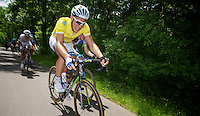 Marcel Kittel (DEU) biting hard on yet another tough  climb<br /> <br /> 2013 Ster ZLM Tour <br /> stage 4: Verviers - La Gileppe (186km)