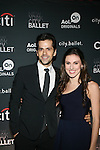 Dancers Robert Fairchild and Tiler Peck Attend The Premiere of the new AOL On Original Series city.ballet Held at Tribeca Cinemas, NY