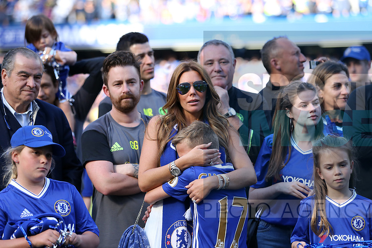 Chelsea's John Terry family look on during the Premier League match at Stamford Bridge Stadium, London. Picture date: May 18th, 2017. Pic credit should read: David Klein/Sportimage