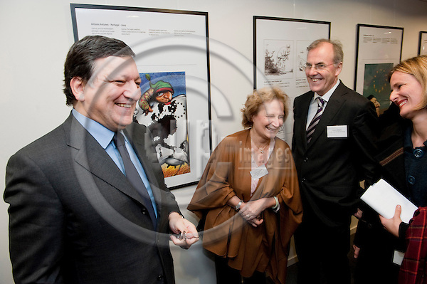 Brussels-Belgium, February 02, 2011 -- Inauguration of the Press Club Brussels Europe at Rue Froissart with/by i.a. the President of the EuropeanCommission; here, ... (caption to be completed by more information / names) -- Photo: Horst Wagner / eup-images