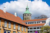 Norway, Stavanger. Valbergtårnet tower.
