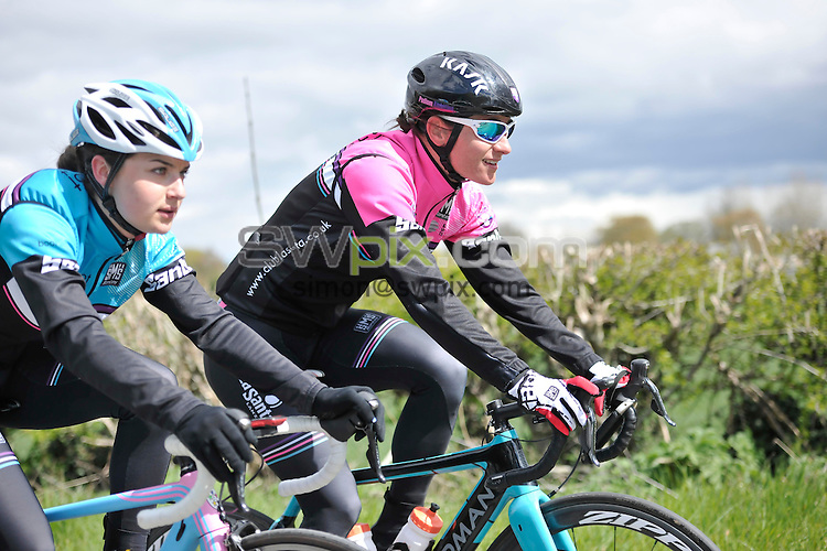 Picture by Simon Wilkinson/SWpix.com - 26/04/2016 - TDY Tour de Yorkshire 2016 Womens Race Recce - by Dame Sarah Storey<br />