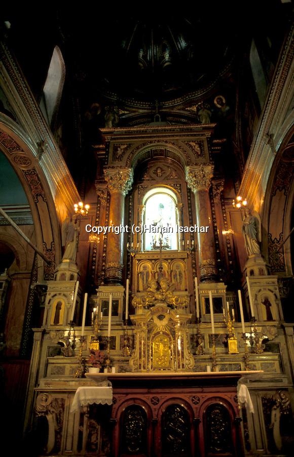 Tuekey, Izmir. Church of Saint Polycarp, the altar-piece