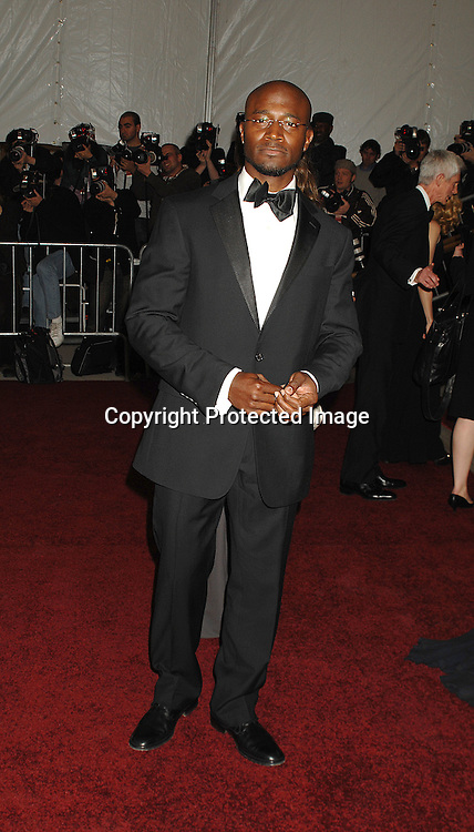 Taye Diggs ..arriving at The Metropolitan Museum of Art's Costume Institute Gala on May 7, 2007 in New York City. The Gala celebrates the exhibition: Poiret: King of Fashion..Robin Platzer, Twin Images......212-935-0770