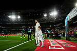 Karim Benzema of Real Madrid goes to the field during La Liga match between Real Madrid and Athletic Club de Bilbao at Santiago Bernabeu Stadium in Madrid, Spain. December 22, 2019. (ALTERPHOTOS/A. Perez Meca)