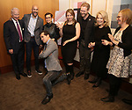Gregory S. Hurst, Lea Salonga, John Leguizamo, Irene Sankoff, David Hein, Daryl Roth and Heather A. Hitchens attends the Theatre Forward Broadway Roundtable on February 2, 2018  at UBS in New York City.