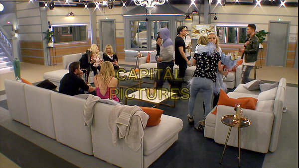 Celebrity Big Brother 2017<br /> Amelia Lily, Sarah Harding and group<br /> *Editorial Use Only*<br /> CAP/KFS<br /> Image supplied by Capital Pictures