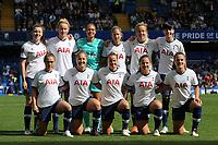 Tottenham Women's Team Photo during Chelsea Women vs Tottenham Hotspur Women, Barclays FA Women's Super League Football at Stamford Bridge on 8th September 2019