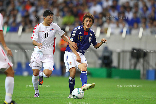 Tadanari Lee (JPN), SEPTEMBER 2, 2011 - Football / Soccer : FIFA World Cup Brazil 2014 Asian Qualifier Third Round Group C match between Japan 1-0 North Korea at Saitama Stadium 2002, Saitama, Japan. (Photo by YUTAKA/AFLO SPORT) [1040]