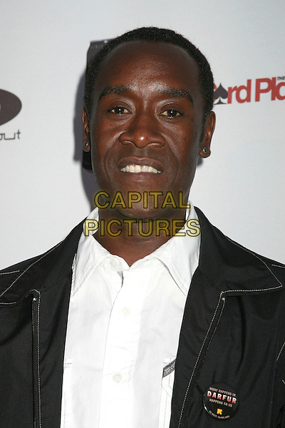 DON CHEADLE .2nd Annual Celebrity Poker Tournament Benefiting The Urban Health Institute at the Playboy Mansion, Holmby Hills, California, USA..April 28th, 2007.headshot portrait .CAP/ADM/BP.©Byron Purvis/AdMedia/Capital Pictures